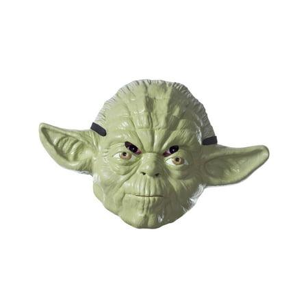 Star Wars Classic Adult Yoda Mask Halloween Costume Accessory