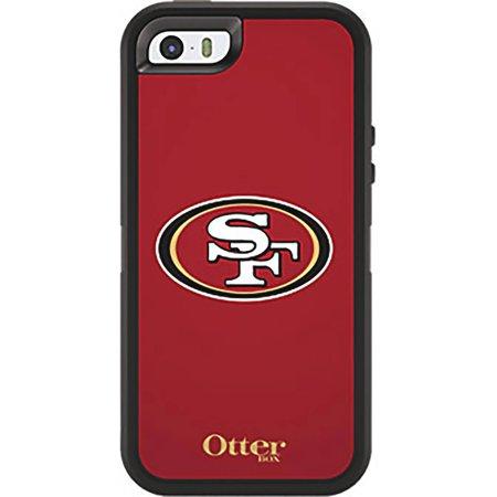 OtterBox Defender NFL Series Case for Apple iPhone 5/5s, 49ers  Walmart.com