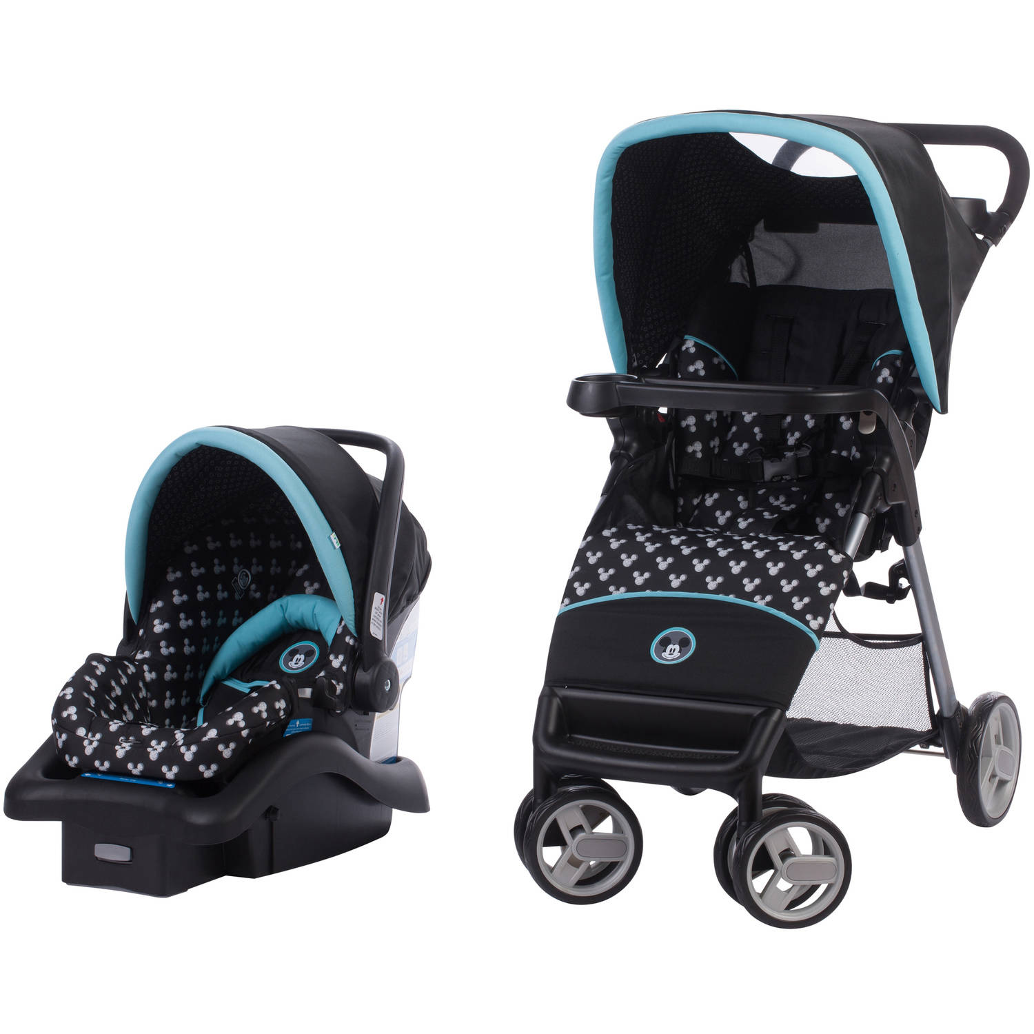 Disney Simple Fold Travel System, Mickey Shadow