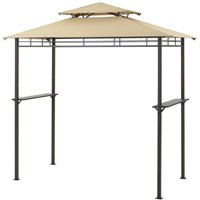 Mainstays 8x4-Foot Grill Gazebo w/Optional Adjustable Awning