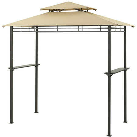 Mainstays 4 X 8 Grill Gazebo With Optional Adjule Awning