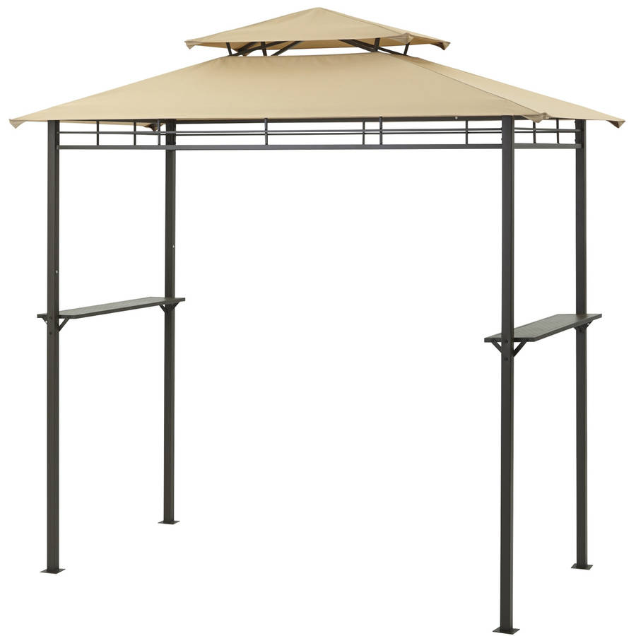 Mainstays Grill Gazebo with Optional Adjustable Awning
