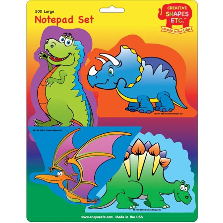 Large Notepad Set - Dinosaur -