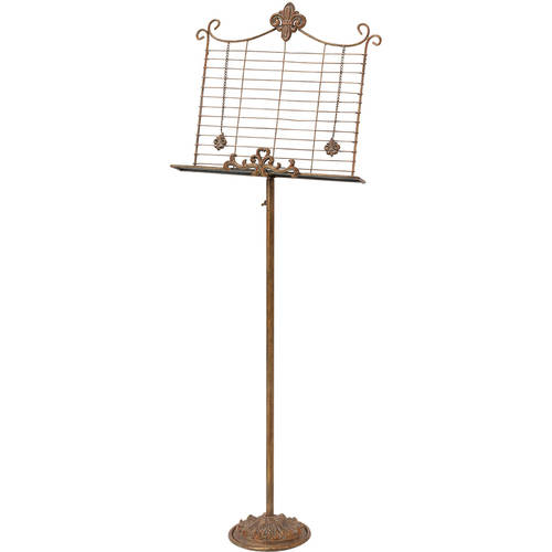Decmode Metal Music Stand, Bronze by DecMode