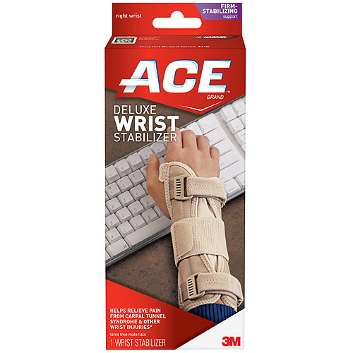 ACE Deluxe Wrist Stabilizer, L/XL, Right, 207279
