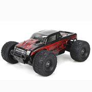 ECX Ruckus 4WD RTR Monster Truck (1/18 Scale), Black/Red