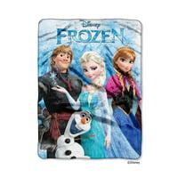Disney Frozen Frozen Fun Plush 60 x 80 inch Twin Size Throw Blanket