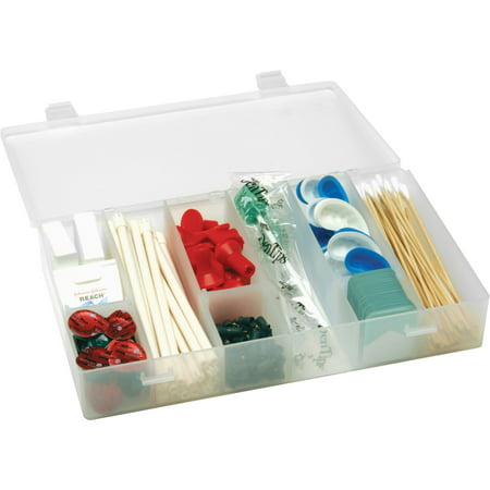 Infinite Divider Systems, FLMT6ID118719, Flambeau Inc Infinite Divider Storage Boxes, 1 Each, Clear