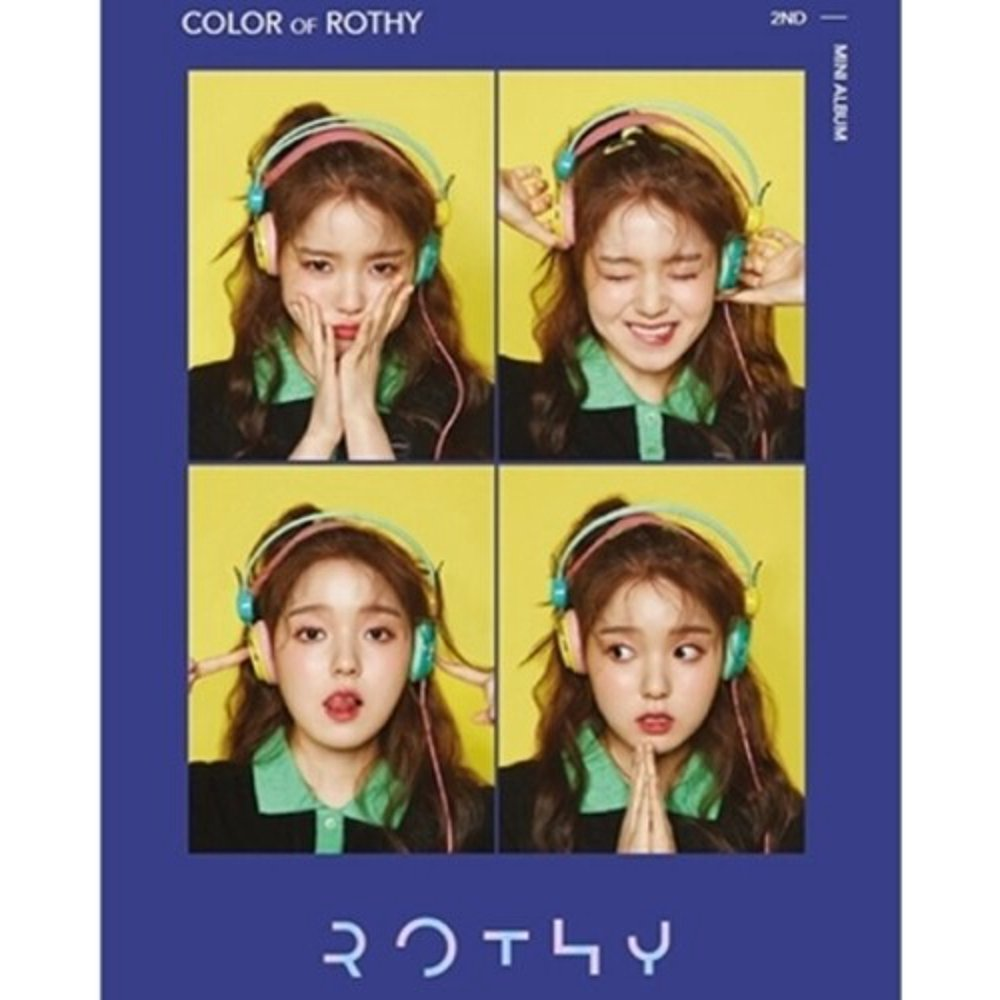 Color of Rothy (2nd Mini Album) (Incl. 24pg Booklet, Photocard +Selfie Photocard) (CD)