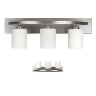 3 light vanity fixture portfolio light vanity bath bathroom fixture brushed pewter walmartcom