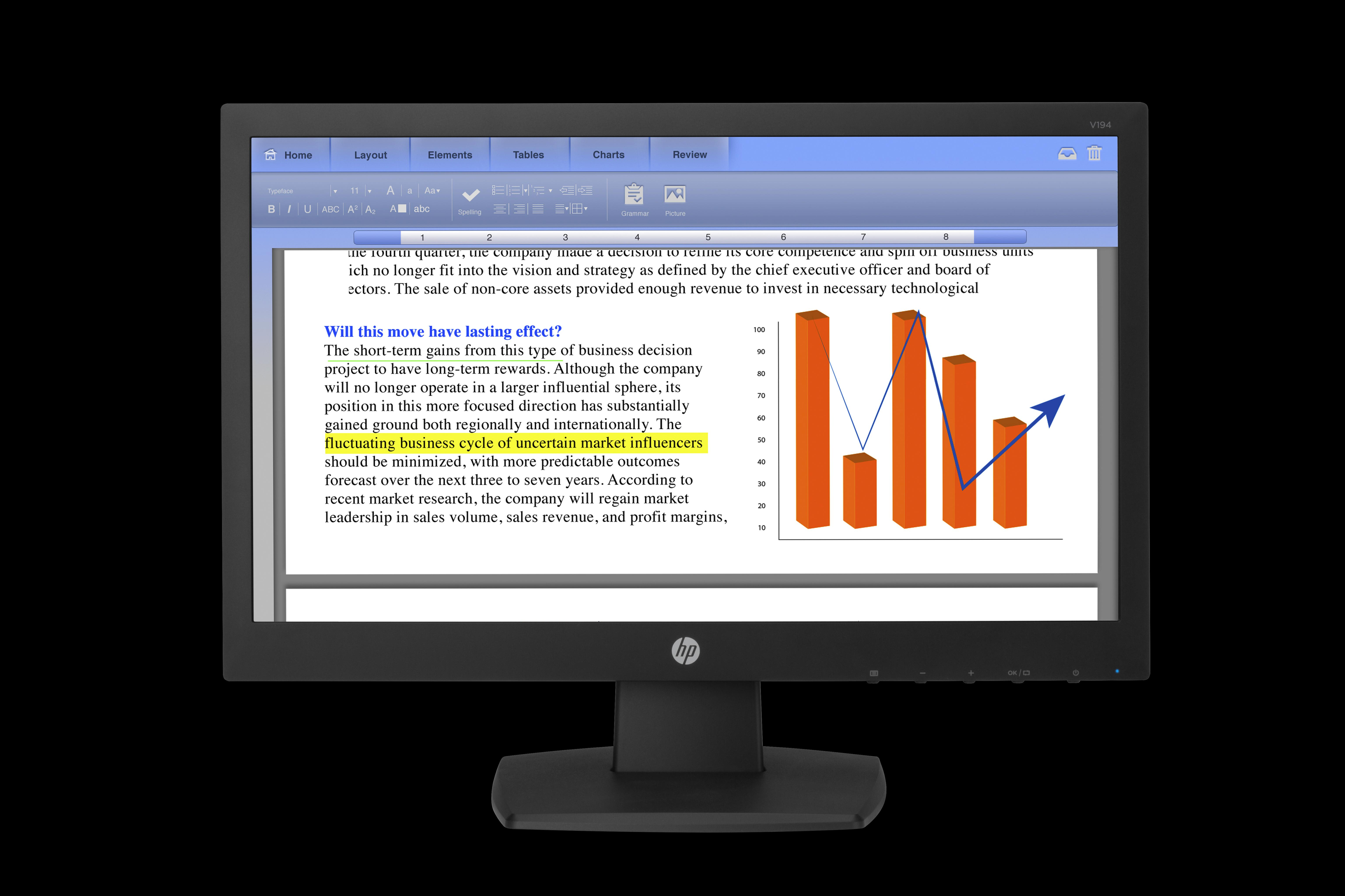 HP V194 18.5-inch 1366 x 768 Monitor