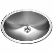 Houzer CHO-1800-1 Opus Series Undermount Stainless Steel Single Bowl Lavatory Sink with Overflow