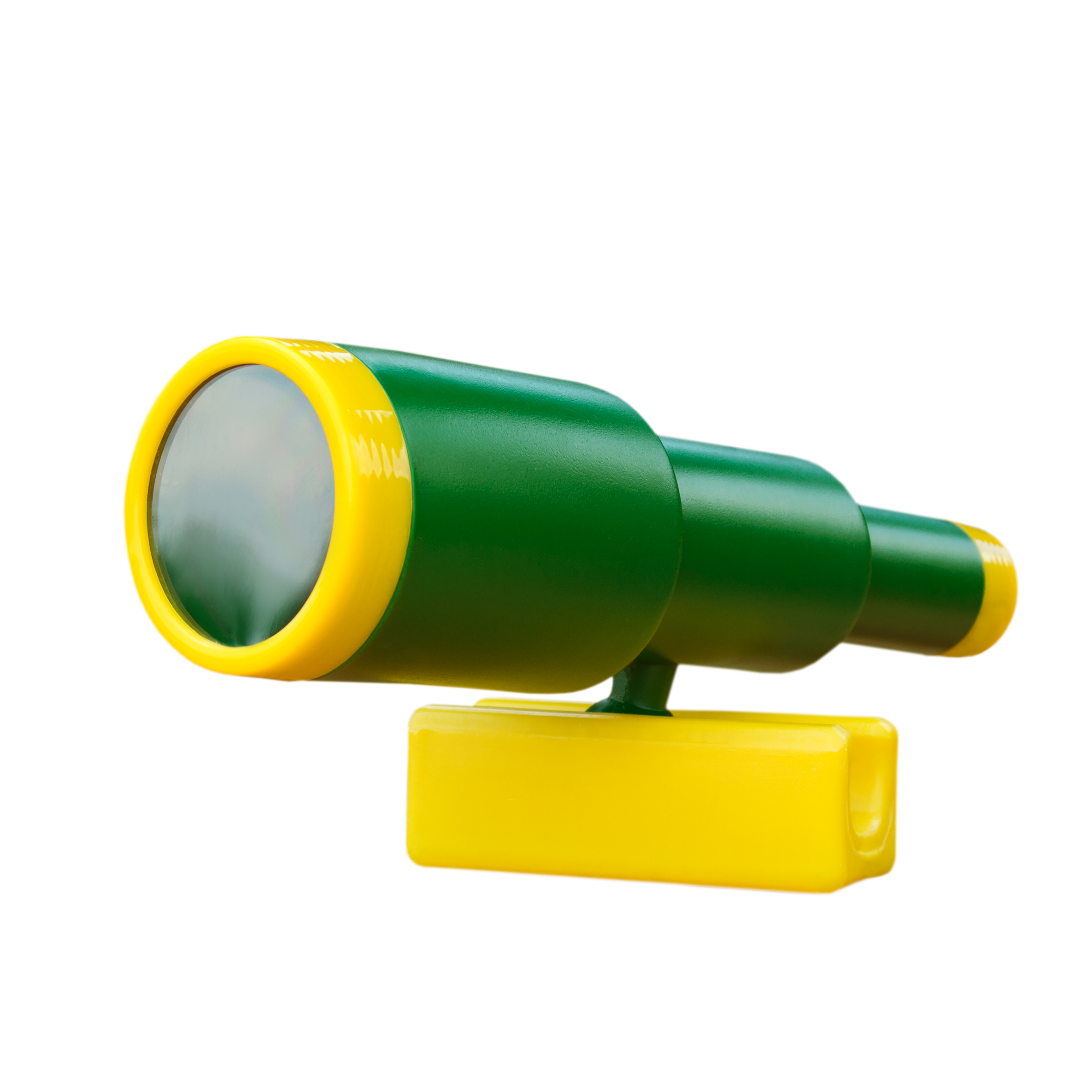Gorilla Playsets Looney Telescope, Green and Yellow Trim