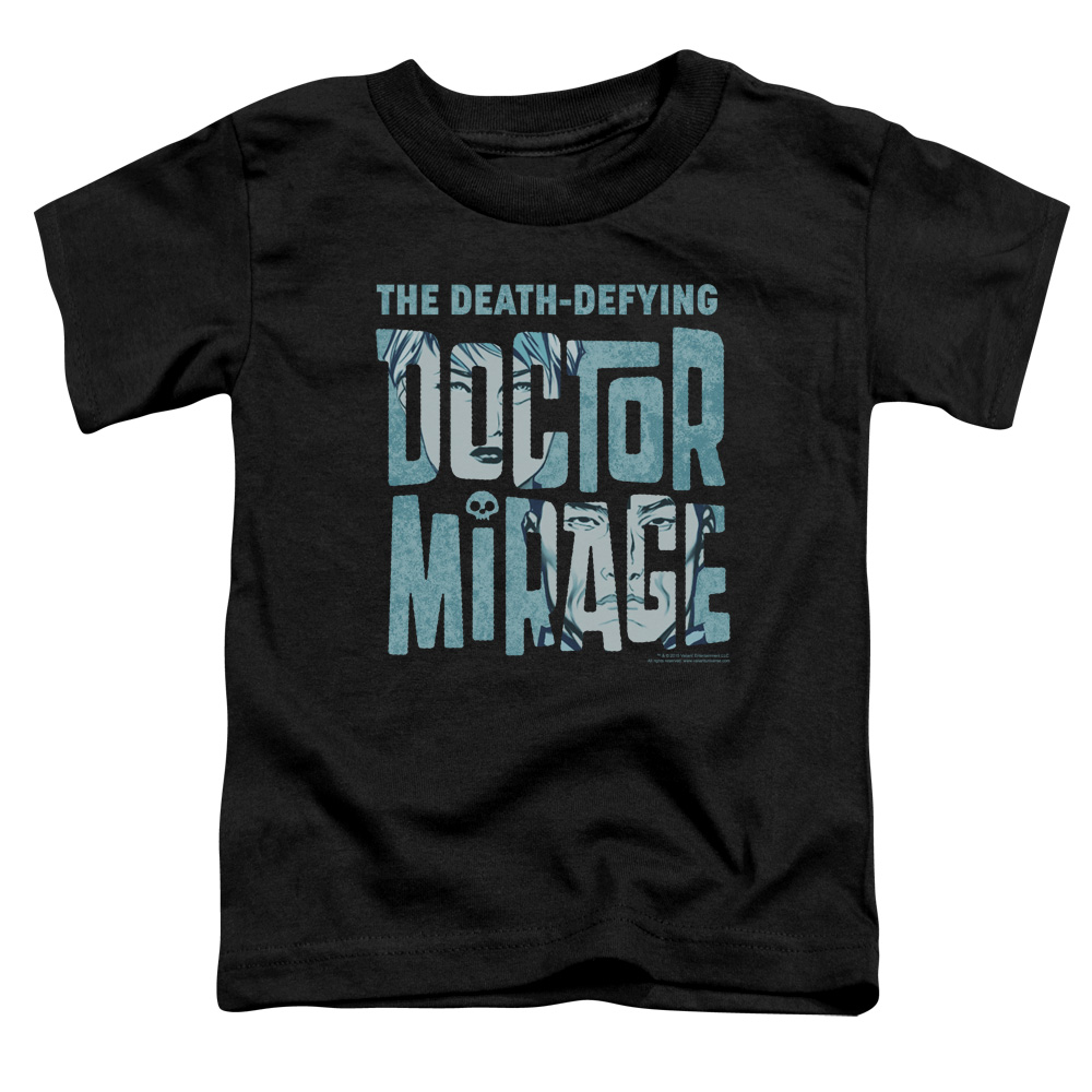 Doctor Mirage Character Logo Little Boys Shirt