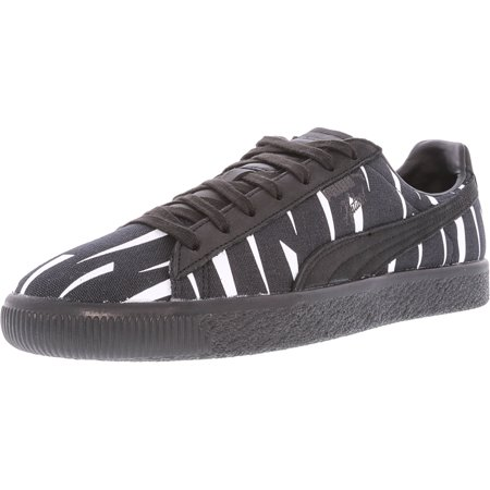 best sneakers 43289 119e4 Puma Clyde Black Rain Naturel Black-Puma Low Top Fashion Sneaker - 8.5M /  6.5M