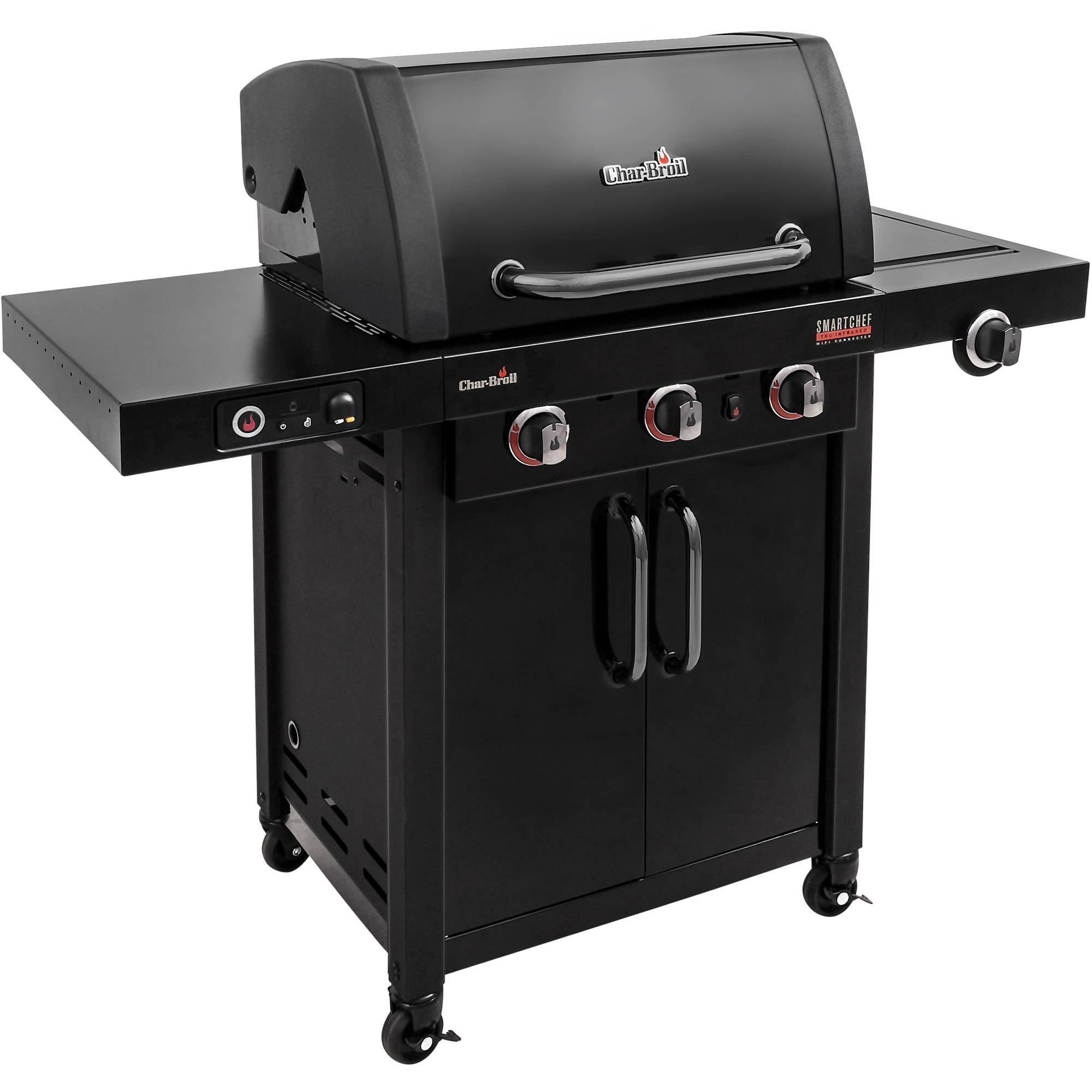 Char-Broil SmartChef TRU-Infrared 420 3-Burner Cabinet