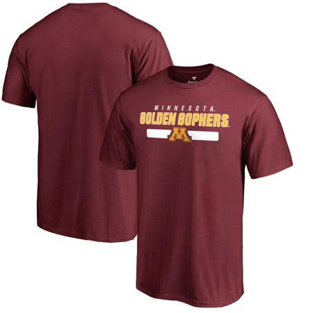 Minnesota Golden Gophers Team Strong T-Shirt - Maroon Minnesota Golden Gophers Tailgate