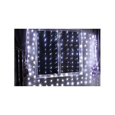 Anleolife 110V USA Power Plug 6Mx3M 600LED Icicle light White LED Outdoor Home Party Christmas ...