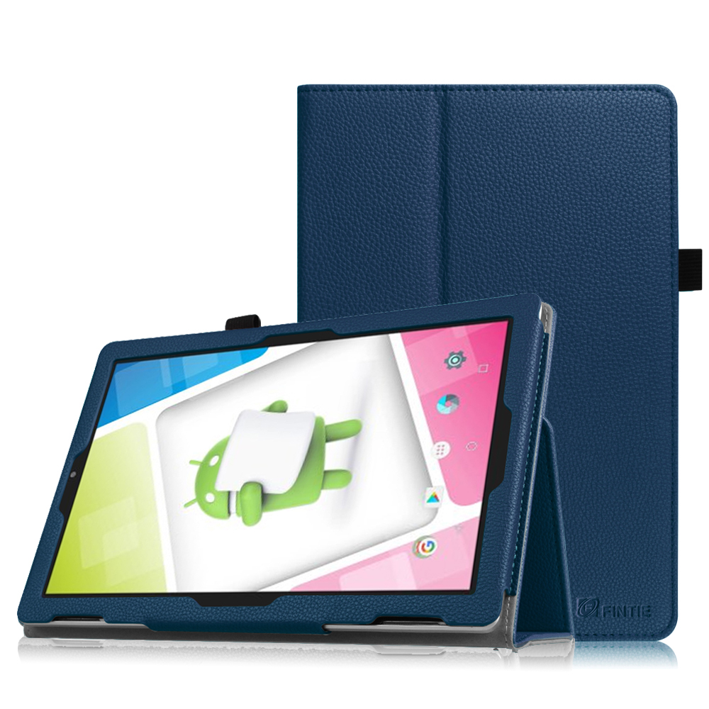 "Fintie Premium Vegan Leather Folio Case Cover for Nextbook Ares 10A with WiFi 10.1"" Touchscreen Tablet PC (NX16A10132S)"