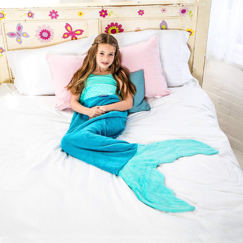 Blankie Tails Original Mermaid Blanket