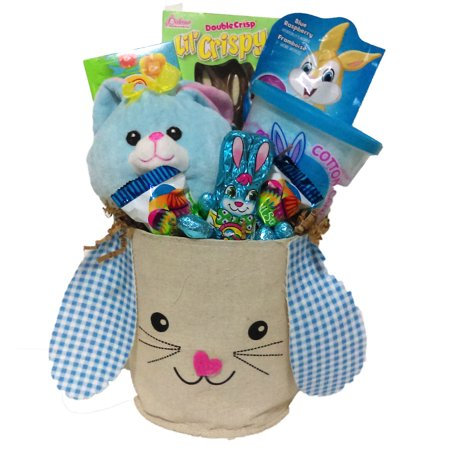 Bunny Hop Boys Easter Basket ()