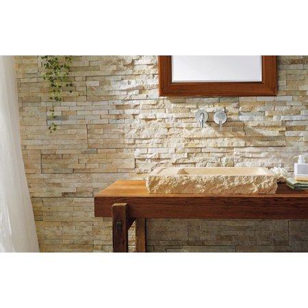 Vst 2021 Bas Virtu Usa Orion Bathroom Vessel Sink In Galala Beige Marble
