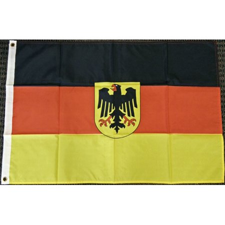 2x3 Germany Flag with Eagle German Banner Deutschland New Indoor Outdoor