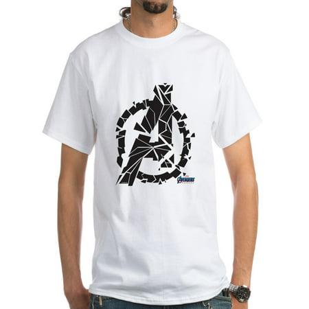 CafePress - Avengers Endgame Black Logo Men's Classic T Shirts - Men's Classic T-Shirts