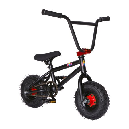 """KOBE Mini BMX Trick Bike - Off-Road to Skate Park, Freestyle, Trick, Stunt Bicycle 10"""" Wheels for Adults and Kids - Red - image 5 de 12"""