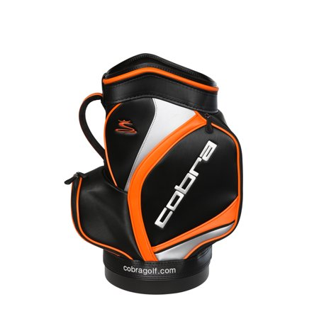 COBRA DEN CADDY GOLF BAG BLACK -90919001- NEW 2017