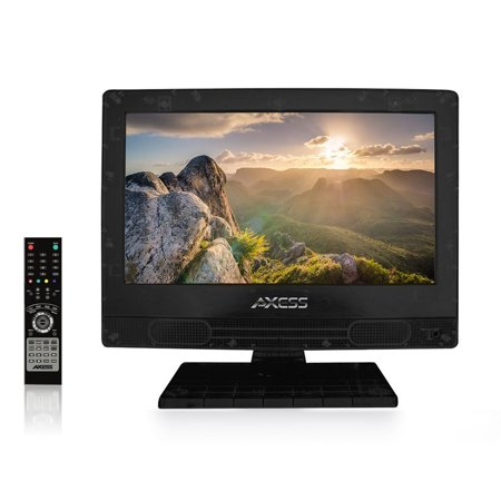 AXESS TV1705-13 13-Inch LED HDTV, Features 1xHDMI/Headphone Inputs, Digital Tuner with Full Function (Best Small Digital Tv)
