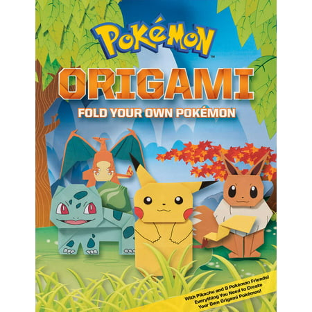 Pokemon Origami: Fold Your Own Pokemon! (Fold Origami Bird)