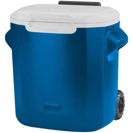 Personal Cooler (Coleman 16-Qt Personal Wheeled Cooler, Blue )