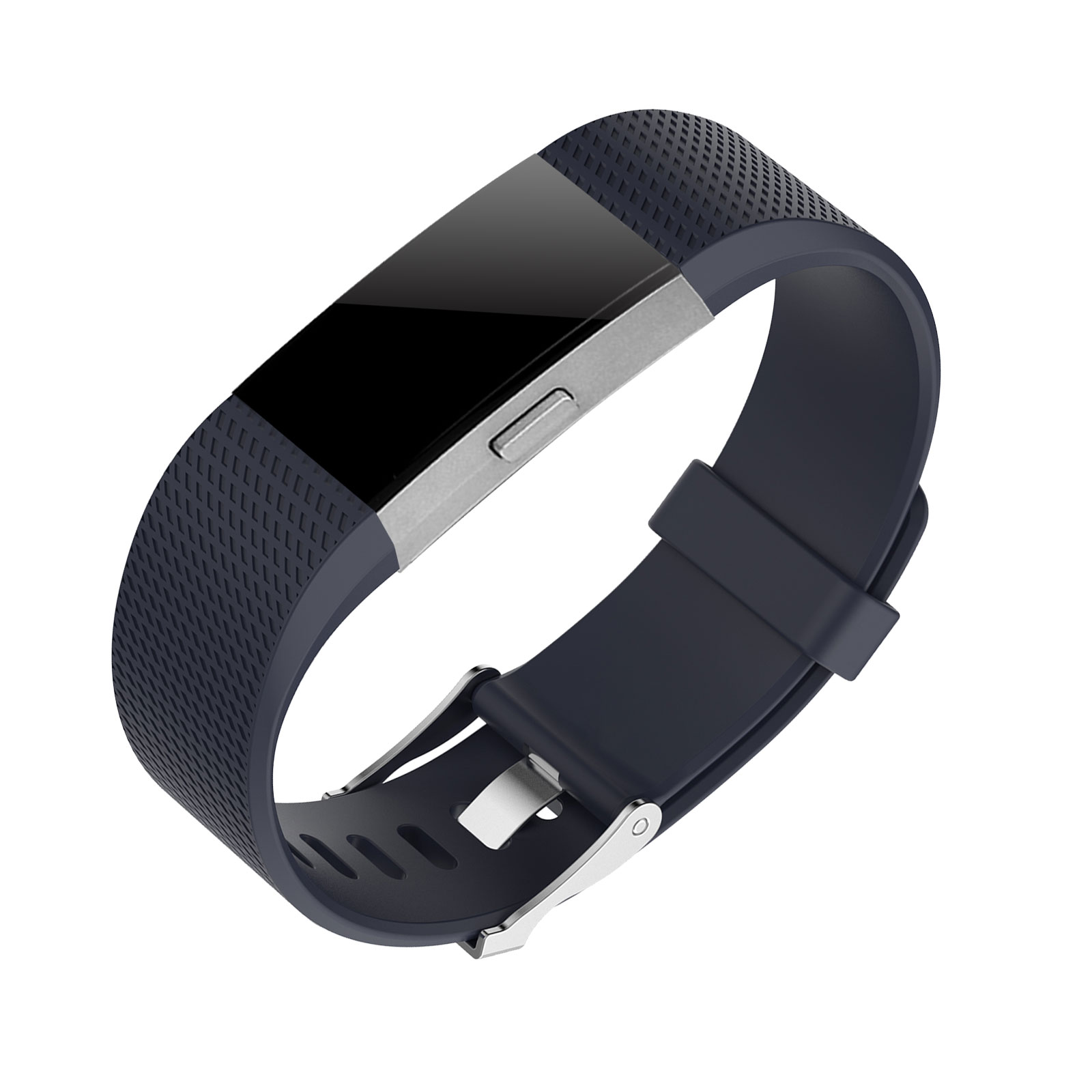 Replacement Silicone Rubber Sport Strap Wristband Bracelet for Fitbit Charge 2