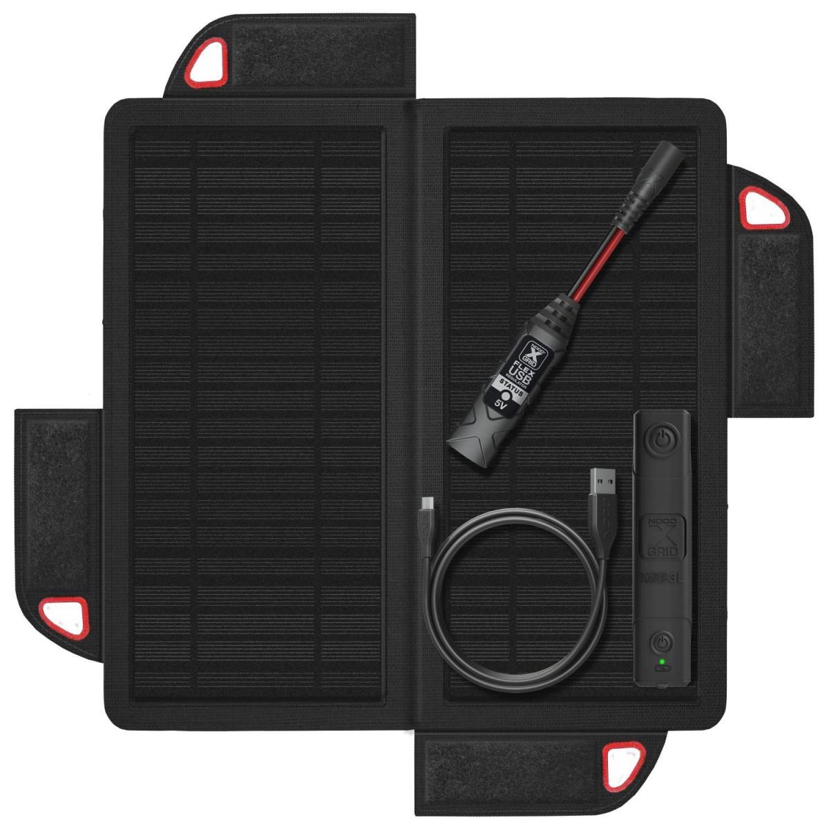Noco Battery XGS9USB Noco 9w Foldable Solar Panel W/xgb3l...