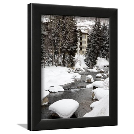 Gore Creek, Vail Ski Resort, Rocky Mountains, Colorado, United States of America, North America Framed Print Wall Art By Richard Cummins