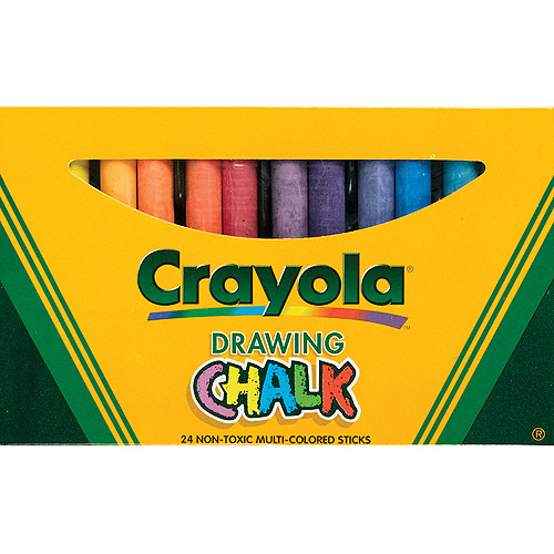 Crayola Drawing Chalk, 24/pkg
