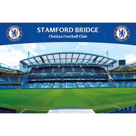 Chelsea Stamford Bridge (Chelsea Stamford Bridge 13 Laminated Poster (24 x 36) )