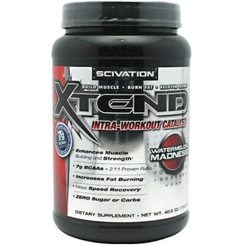 Scivation Xtend Intra-Workout Catalyst, Watermelon Madness, 90 SRV