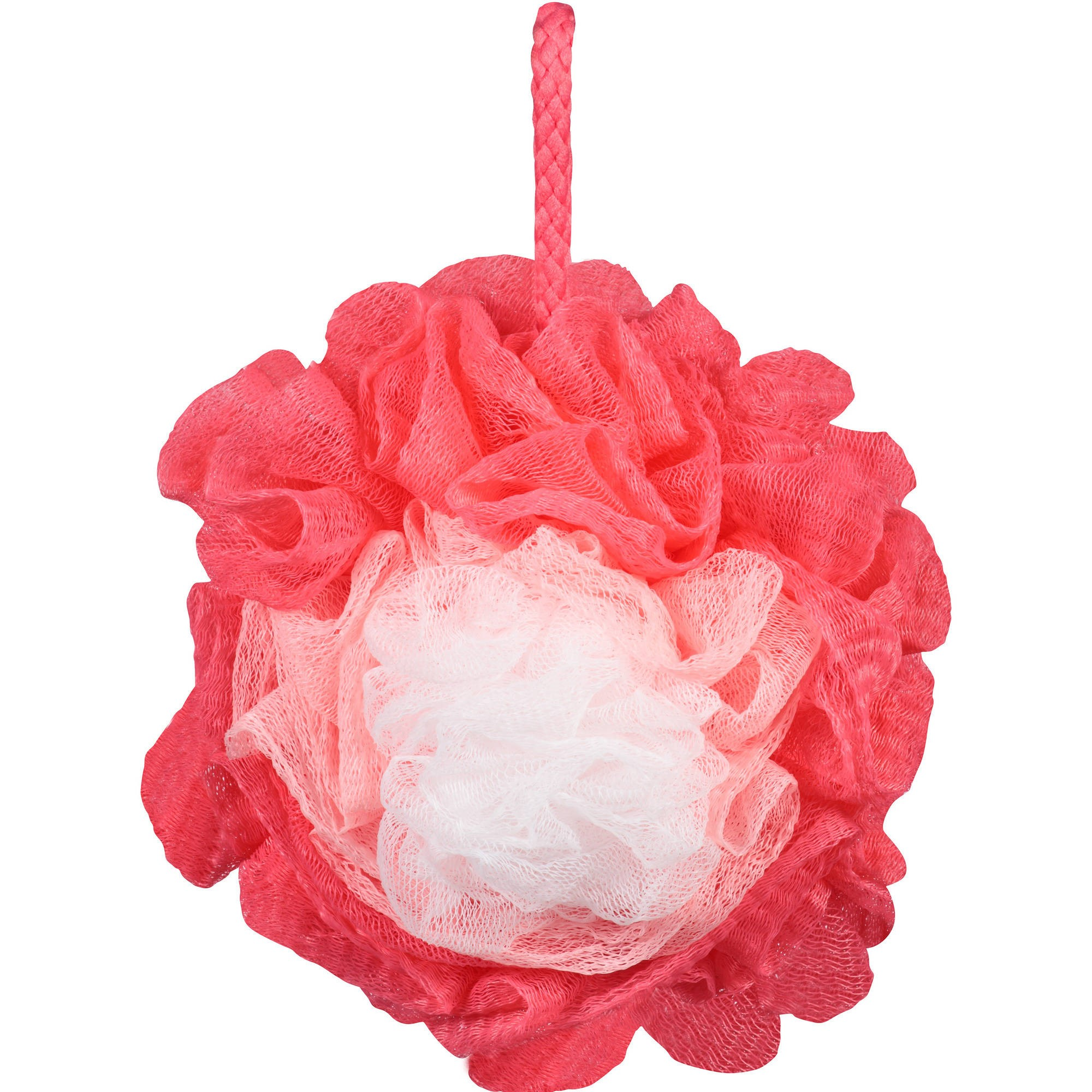 (4 pack) Body Benefits by Body Image Flower Bath Sponge, Color by Vary
