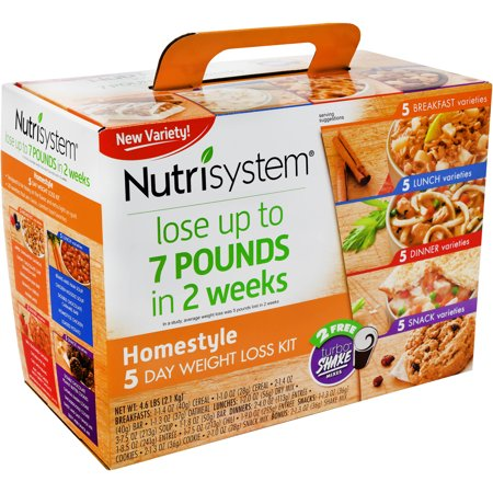 Nutrisystem Homestyle 5 Day Weight Loss Kit