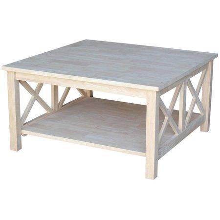 International Concepts Hampton Square Coffee Table