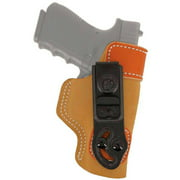 DESANTIS GUNHIDE SOF-TUCK RH BERETTA 92F SADDLE LEATHER/SUEDE TAN
