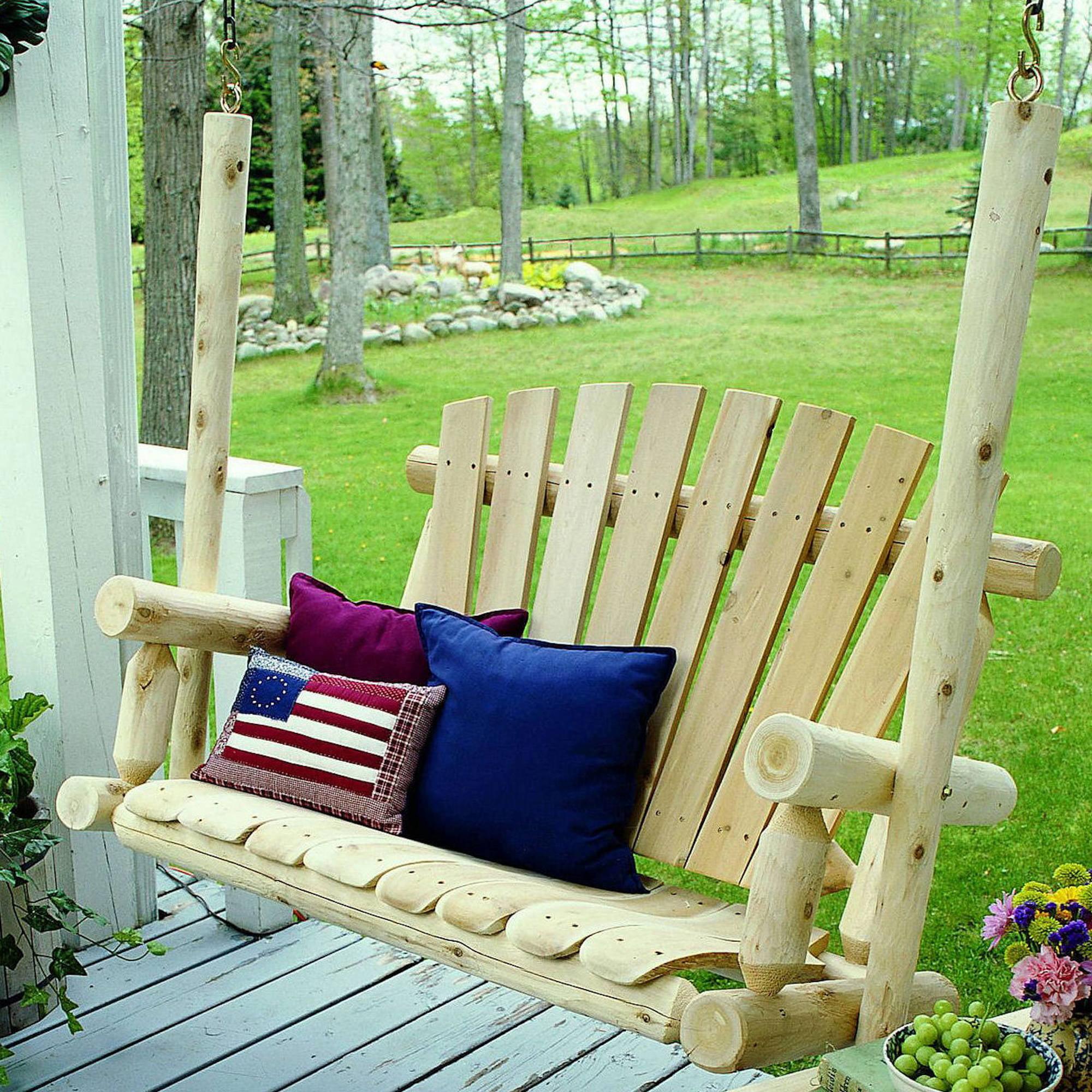 Lakeland Mills 4' Porch Swing by Lakeland Mills