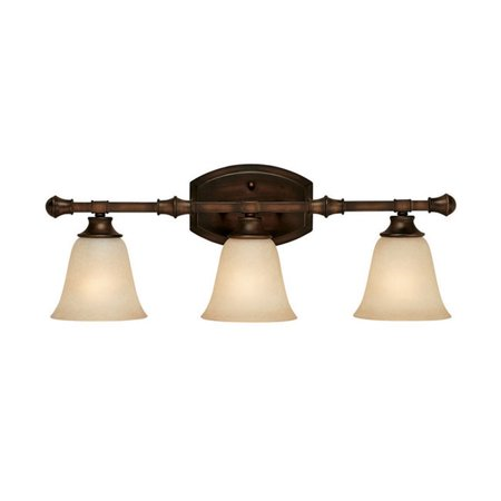 Capital Lighting Belmont Burnished Bronze 3 Light Vanity - Belmont 3 Light Vanity