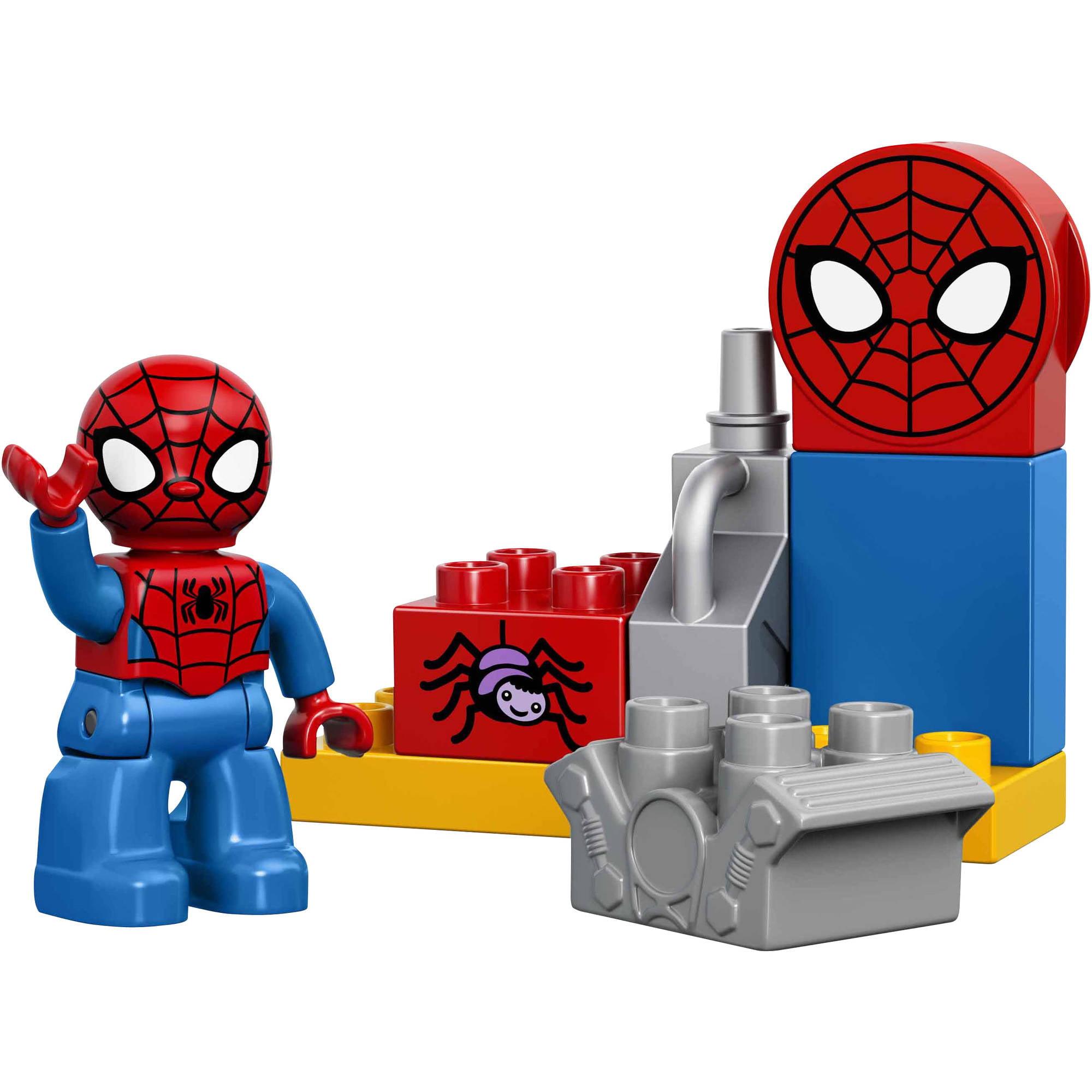 LEGO DUPLO Marvel Spider Man Web Bike Workshop Building Set, 10607    Walmart.com