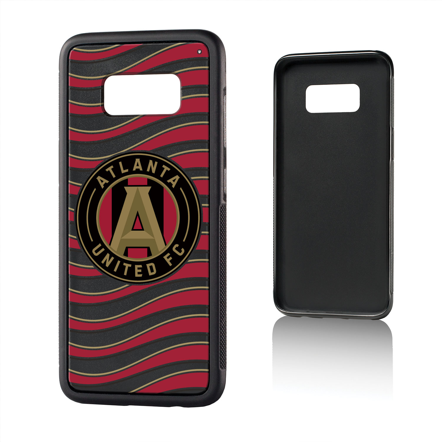 Atlanta United FC ATLUTD Wave Bump Case for Galaxy S8