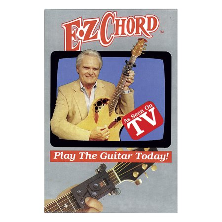 Learn How To Play Guitar EZ Chord Patented DVD Numbered Button Device Kit
