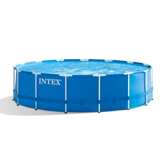 Intex 10x30 Metal Frame Above Ground Swimming Pool With Filter Pump ...