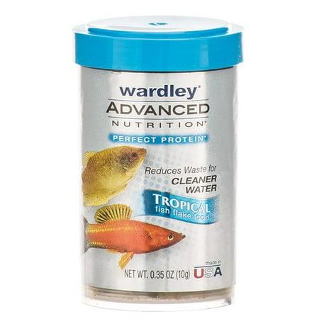 - Wardley Advanced Nutrition Perfect Protein Tropical Fish Flake Food .35 oz